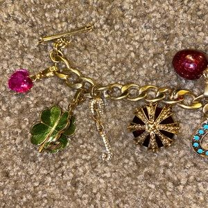 Juicy Couture Jewelry - Juicy couture charm bracelet